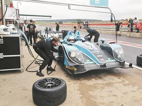 Comeback im Sportprototypen: Christian Klien testete in Snetterton seinen neuen Boliden. Foto: jk