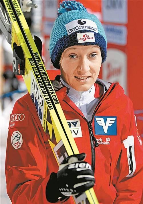 Comeback nach Verletzungspause: Daniela Iraschko. Foto: gepa