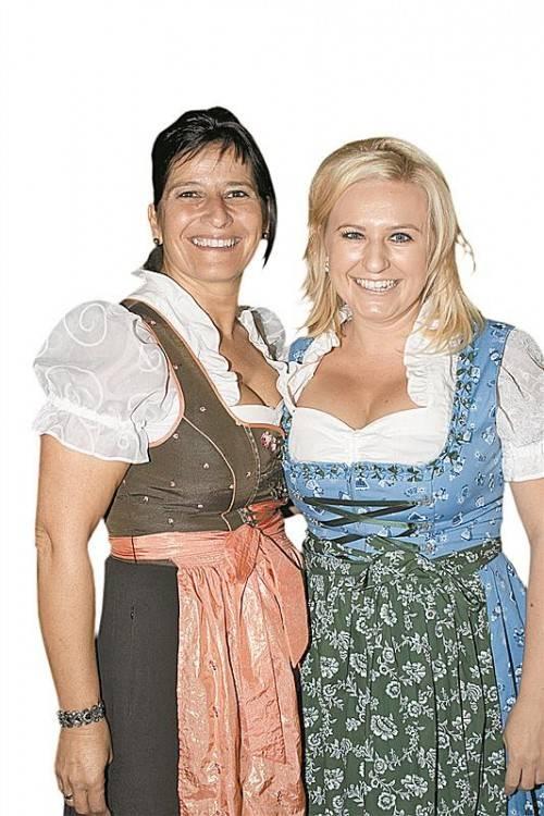 Cornelia Spieß (l.) und Tanja Burtscher.