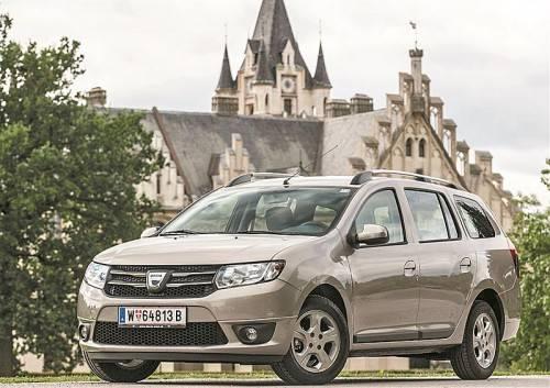 Dacia Logan MCV: Fast einen halben Meter länger als die Limousine Sandero und viel geräumiger. Fotos: werk