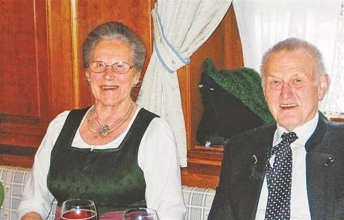Das Paar sieht auf glückliche gemeinsame Jahre zurück.