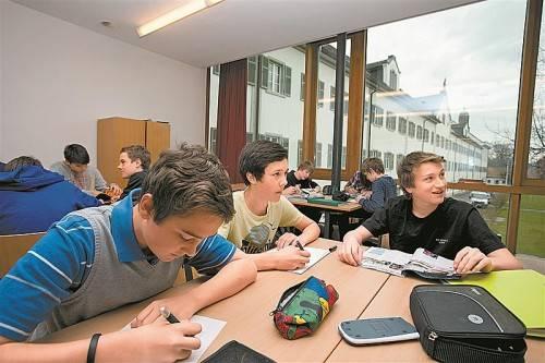 Das Privatgymnasium Mehrerau freut sich über steigende Schülerzahlen. Foto: VN/R. Paulitsch