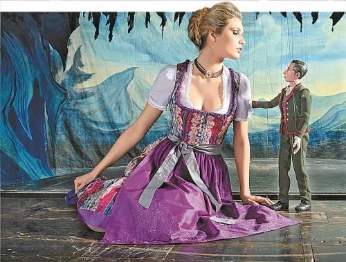 Das Salzburger Traditionsunternehmen Gössl hat exklusive Dirndl im Sortiment.