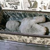 Mumie aus Diepholz ist ein Plastik-Skelett
