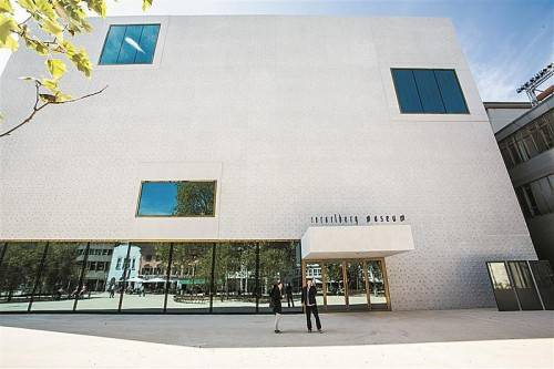 Das Vorarlberg Museum von Cukrowicz/Nachbaur ist auf jeden Fall Thema in der Ausstellung. Foto: VN/Steurer