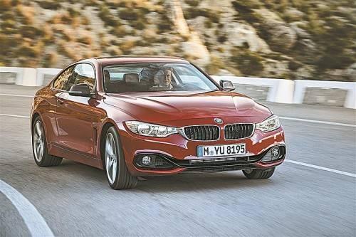Das neue Coupé von BMW ist der Startkandidat der neuen Vierer-Baureihe auf Basis des Dreiers. Fotos: werk