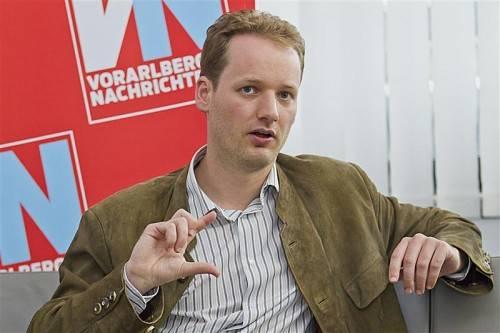 David Stadelmann setzt auf Bürgerbeteiligung. Foto: VN/Steurer