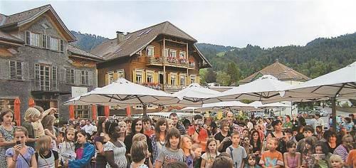 """Der """"Käsklatsch"""" findet erstmals auch in Bregenz statt. Foto: Thoma"""