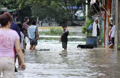 """Der Hurrikan """"Ingrid"""" hat in Mexiko bereits vor seiner Ankunft 70 Dörfer geflutet und von der Außenwelt abgeschnitten. Foto: Reuters"""