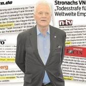 Werner Harders Wahlkampf in der Erlöserkirche