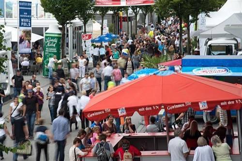 Der Sonntag war der beste Messetag und sorgte für einen halbwegs versöhnlichen Abschluss der 65. Dornbirner Herbstmesse. Fotos: VN/Lerch