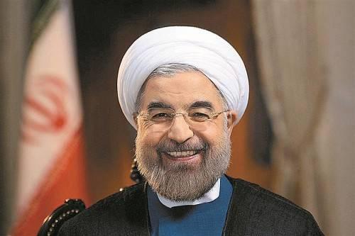 Der iranische Präsident Rohani strebt Versöhnung an. Foto: RTS