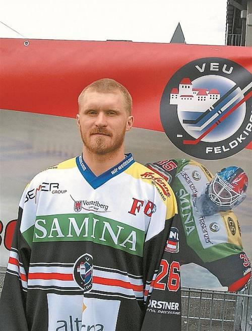 Der neue VEU-Abwehrchef ist da: Maxim Abajew. Foto: T. knobel