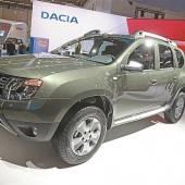 Dacia fährt in Frankfurt den neuen Duster vor