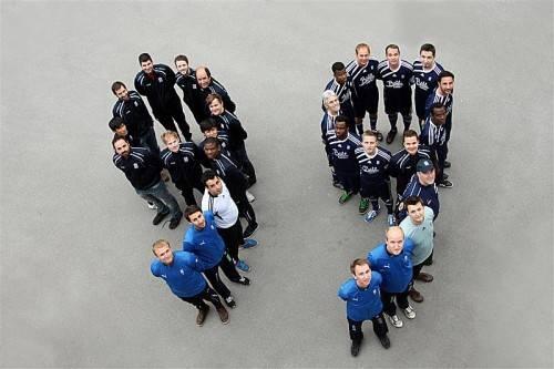 Die Organisatoren des FC Tosters 99 können heute neben den Spielern des SCR Altach viel Prominenz im Waldstadion begrüßen. Foto: Verein