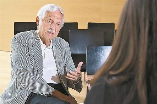 Die Trennung von Geschlechtsverkehr und Fortpflanzung wird selbstverständlich, sagt Carl Djerassi im VN-Gespräch. Foto: VN/Hofmeister