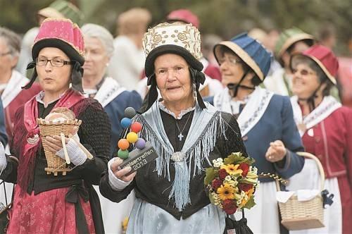 """Die große """"Walserfamilie"""" kam am Wochenende im Großen Walsertal zusammen. Fotos: VN/Stiplovsek"""