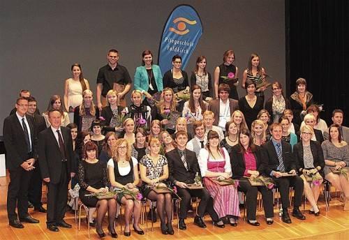 Diplomverleihung im Landeskonservatorium in Feldkirch.