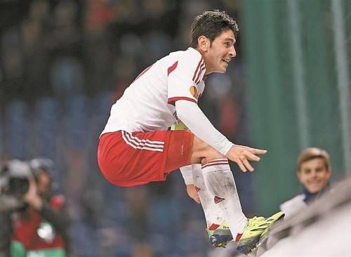Drei Tore beim 4:0 von Salzburg – Soriano war gegen Elfsborg der Mann des Abends. Foto: gepa