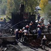 37 Russen sterben bei Brand in maroder Klinik