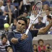 Federer König der Nacht