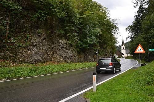 Eine der Forderungen ist Tempo 40 im Bereich von Arbogast. Foto: ver