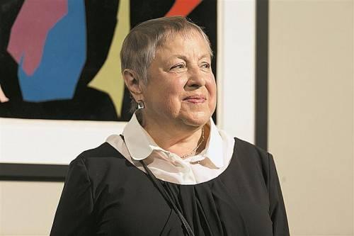 Elena Preis, geb. 1938, ist eine Nichte von Kandinsky. Fotos: Kunstraum, A. Grabher