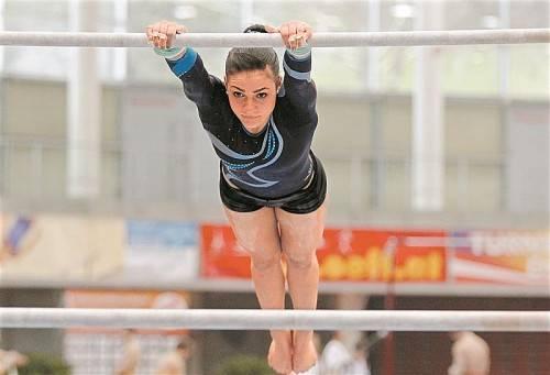 Elisa Hämmerle ist Vorarlbergs einzige Dame bei der Turn-WM in Antwerpen. Foto: gepa