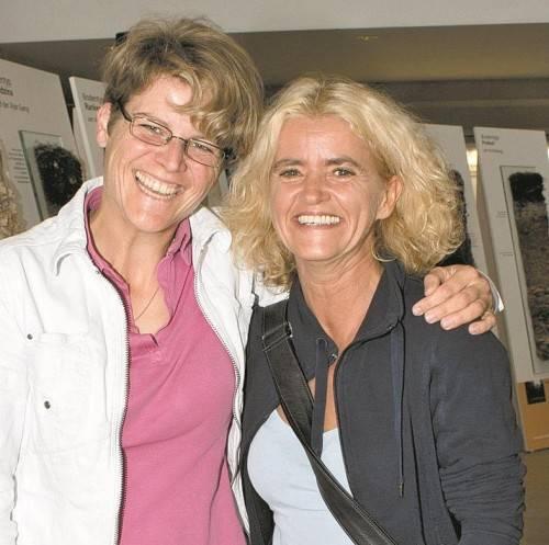 Elisabeth Bilger (l.) und Elke Gander.