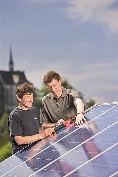 Verbauung und Einsatz von Photovoltaikanlagen werden vom Land finanziell kräftig gefördert.