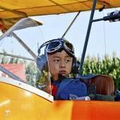 Junger Segelpilot