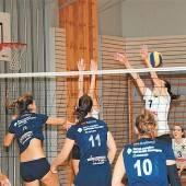 Die Volleyball-Damen spielen in Feldkirch auf