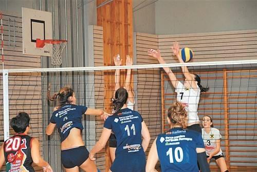 Feldkirchs Volleyball-Damen sind beim Sparkassencup in der Gastgeberrolle. Foto: ffg