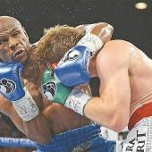 Mayweather ist seit 45 Kämpfen ungeschlagen