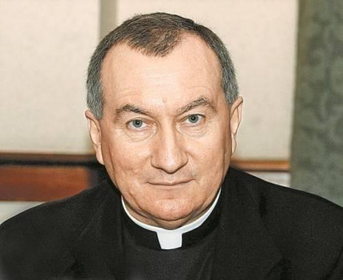 Folgt Kardinal Pertone nach: Erzbischof Parolin (58). Foto: RTS