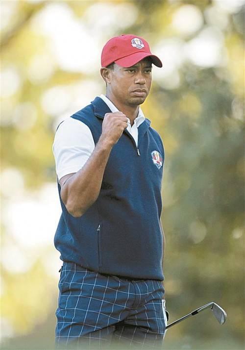 Fünf Siege, erster der Tour-Preisgeldliste: Tiger Woods. Foto: gepa