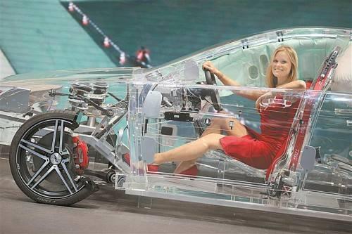 Für Aufsehen sorgte das Modell von Thompson Ramo Wooldridge, einem Autosicherheits-Zulieferer. Reuters