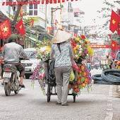 Buntes Treiben in der Hauptstadt Hanoi