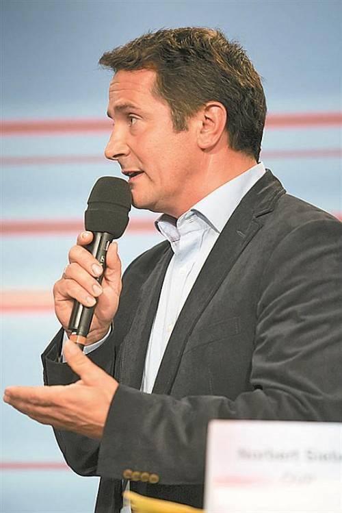 Für Roadpricing: ÖVP-Kandidat Norbert Sieber.