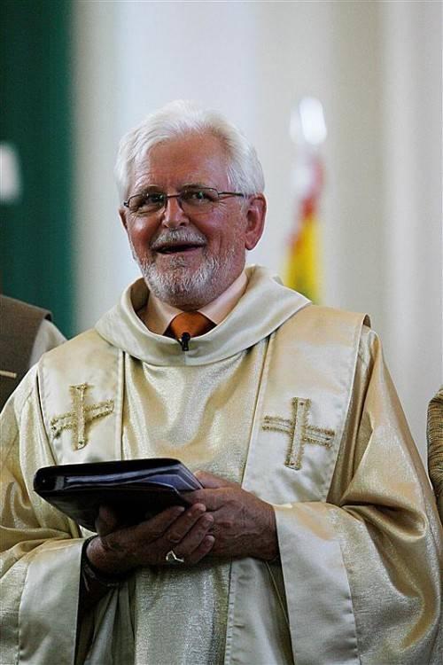 Georg Meusburger verkündet seit über 40 Jahren die Frohe Botschaft.