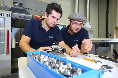 Gestern fand die offizielle Eröffnung des A.M.I.-Erweiterungsbaus in Feldkirch statt. Rund 1,5 Mill. Euro wurden investiert. Foto: VN/Hofmeister