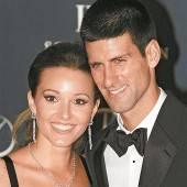 Novak Djokovic landet bald im Hafen der Ehe