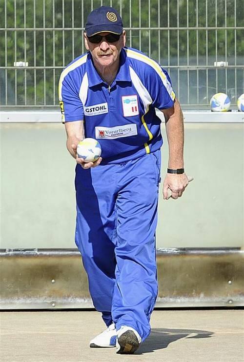Günther Ill unterlag im Finale dem Weltmeister Natale 6:12. vn/DS