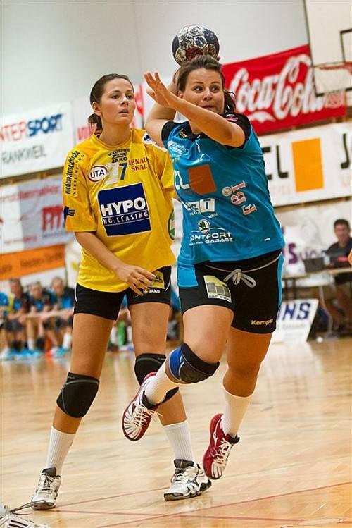 Handball, HWA Saisonstart: Heimspiel BW Feldkirch - Hypo NÖ 2, Spielerliste im Inetrnet leider nicht aktuell, daher kein Name
