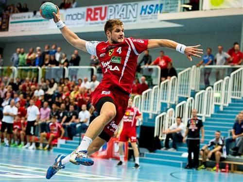 Hard-Neuzugang Kresimir Kozina zeigte in Abwehr und Angriff eine starke Leistung. Foto: gepa