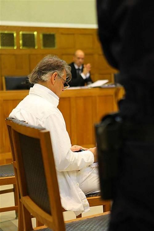 Von der Haft wieder in die U-Haft: Helmut Josef K. Foto: VN