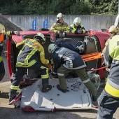 Feuerwehren probten für den Ernstfall