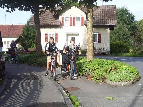 In Lustenau sollen Fahrradstraßen eine attraktive Alternative zum motorisierten Fahrzeug bieten. cth