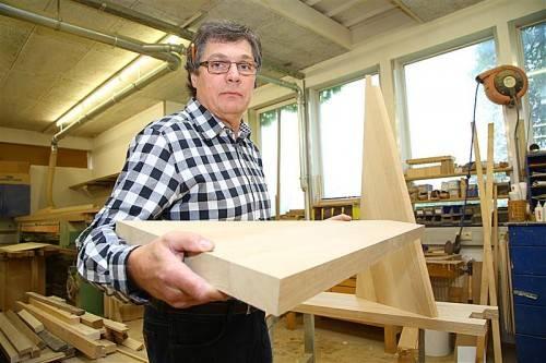 In der Werkstatt werden die Elemente vorgefertigt und dann vor Ort zusammengebaut. VN/Hofmeister