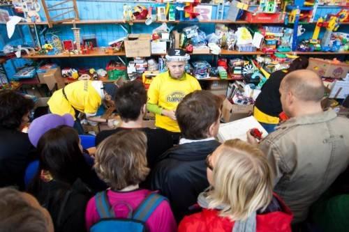 In gut einem Monat steigt wieder der Dornbirner Flohmarkt. Foto: VN/ps